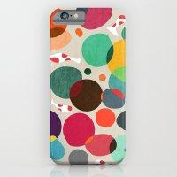 Lotus in koi pond iPhone 6 Slim Case