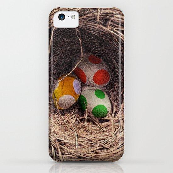 Yoshi Eggs iPhone & iPod Case
