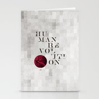 Human Revolution Stationery Cards