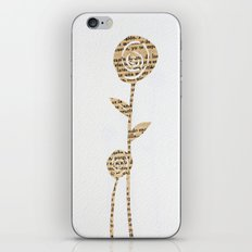 Papercut Flower 1 iPhone & iPod Skin
