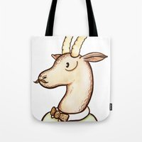 Sir Antelope Tote Bag