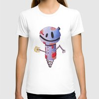 robot T-shirts featuring Robot by Ciotti