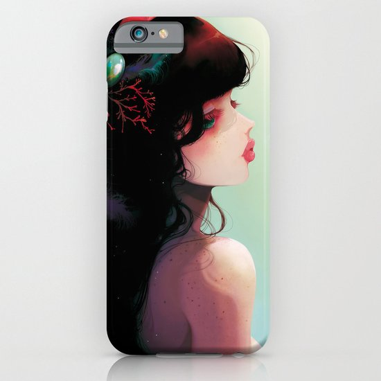 La Cantatrice en greve... iPhone & iPod Case