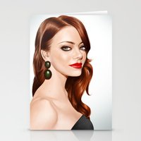 Emma Stone Stationery Cards