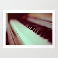 Piano Part 2 Art Print