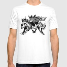 The Ancients kings Mens Fitted Tee White SMALL