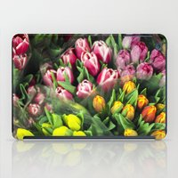Tulips At Market iPad Case