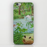 A Day Of Forest (4). (th… iPhone & iPod Skin