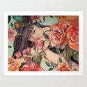 Steal Blossom Art Print