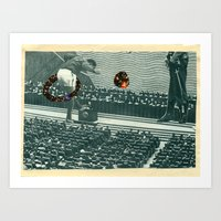 Cutters Football In Mosc… Art Print