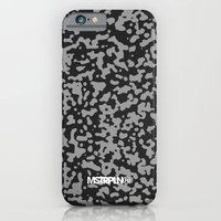 Comp Camouflage Pattern / Black iPhone 6 Slim Case
