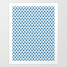 Bazzar 1 Ocean Art Print