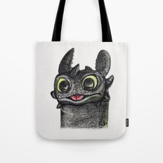 Dragon Toothless Tote Bag