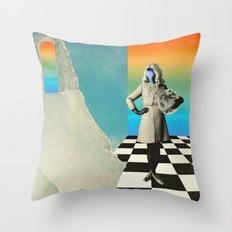 Neptunia Colors Throw Pillow