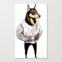 Bad Dog Canvas Print