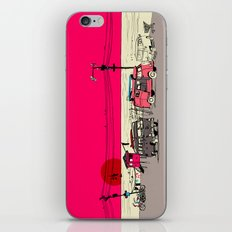 Pink Sky iPhone & iPod Skin