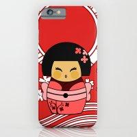 Kokeshi Sakura iPhone 6 Slim Case