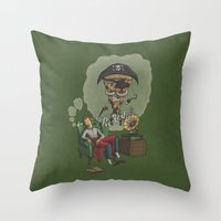 Pie-Red Throw Pillow