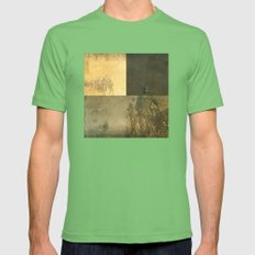 Another Day, Another War Mens Fitted Tee Grass SMALL