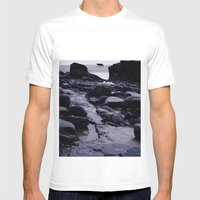 Loner Mens Fitted Tee White SMALL