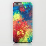 Abstract Paint Phone Cas… iPhone 6 Slim Case
