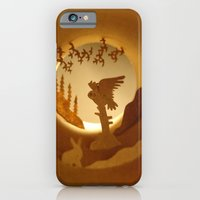 iPhone & iPod Case featuring Far North. Owl (Grand Nord. Chouette) by Anastassia Elias