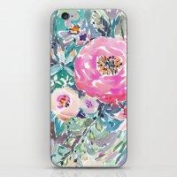 Wild Peony Floral iPhone & iPod Skin