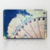 Wander & Explore iPad Case