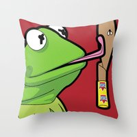 SLOH - Catch Me If You C… Throw Pillow