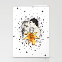Love Is Like A Flower... Stationery Cards