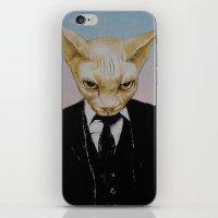 Mister Cat iPhone & iPod Skin