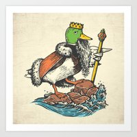 Duck Dynasty Art Print