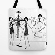 Flapper Band Tote Bag