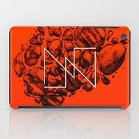 Old School Rocks (Orange… iPad Case