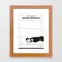 No583 My Mission Impossi… Framed Art Print