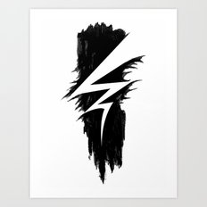 Lightning Arts Logo Art Print