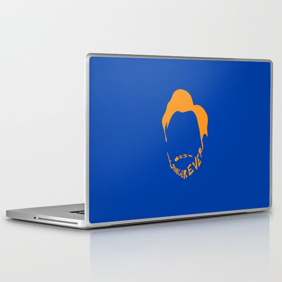 Best Ginger Ever. Laptop & iPad Skin