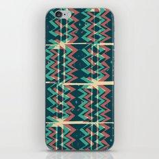 Zig Zags Pattern Press Print iPhone & iPod Skin