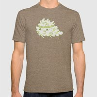 Sweat Mens Fitted Tee Tri-Coffee SMALL