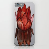 Glass Blossom On Water iPhone 6 Slim Case
