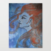 Doused in Flame Canvas Print