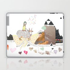 Hermit Crab vs. Snail Laptop & iPad Skin