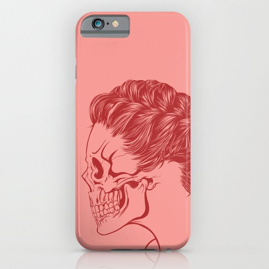 Skull Girl 4 iPhone & iPod Case