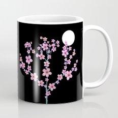 Cherry blossoms at night Mug
