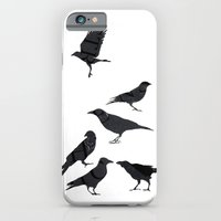iPhone & iPod Case featuring kargalar (crows) by Amylin Loglisci