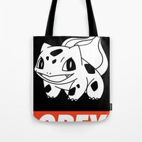 OBEY Bulbasaur Tote Bag
