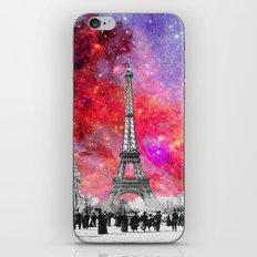 NEBULA VINTAGE PARIS iPhone & iPod Skin