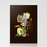 Yep, Just A Little Bit O… Stationery Cards