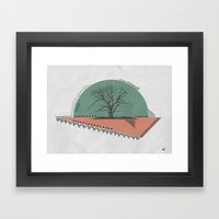 Trëe Framed Art Print