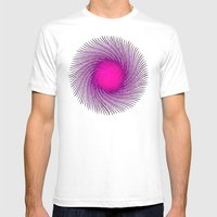 Pink Spirit Circle 2 Mens Fitted Tee White SMALL